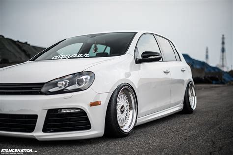 volkswagen gti stance image gallery stanced gti