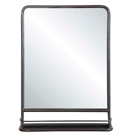 metal mirror with shelf small metal mirror shelves