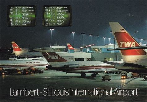 lambert st louis international airport airplanes i seen at lambert feild mo