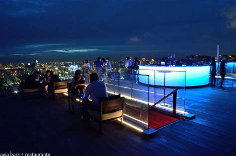 roof top bar in bangkok octave rooftop lounge bar at bangkok marriott hotel sukhumvit asia bars restaurants