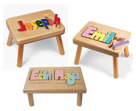 Baby Name Stool by Unique Baby Gifts Coffeetime Coffeetime