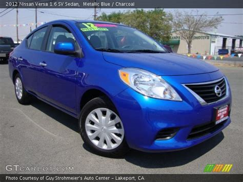 nissan versa dark blue cars for sale 2012 nissan versa 16 sv sedan in autos post