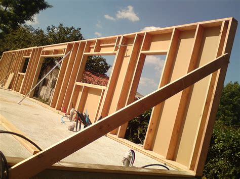 Construction Maison Passive Ossature Bois 4139 by Epaisseur Mur Maison Ossature Bois Boismaison