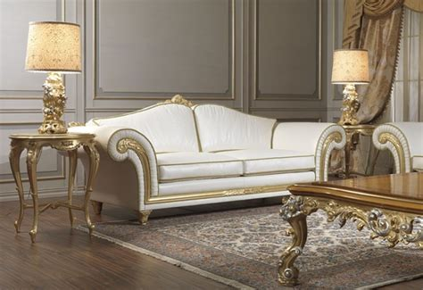 poltrone e sofa terni imperial classic sofas and armchairs in beige leather