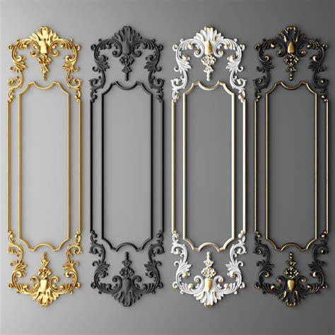 boiserie molding max baroque frames wall molding