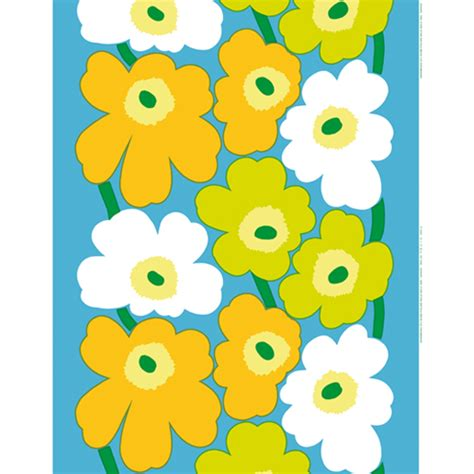 Curtain Upholstery 15 New Marimekko Flower Power Prints Including Reissued