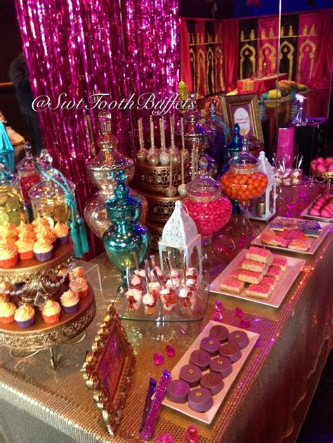 Arabian Nights Birthday Party Candy Buffet by Sweet Tooth