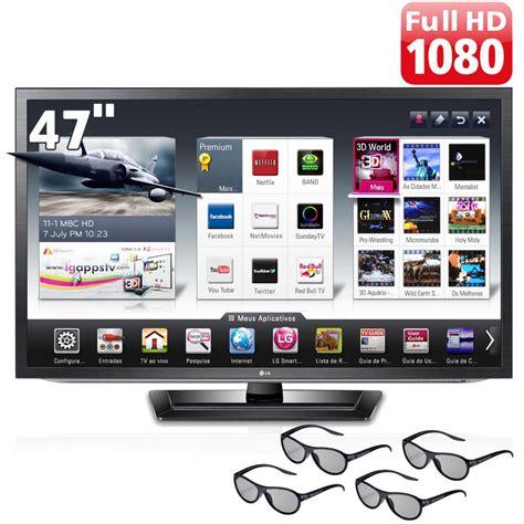 lg tv tv 47 quot cinema 3d led lg 47lm6200 hd smart tv