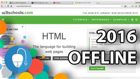 html tutorial offline w3schools html tutorial offline