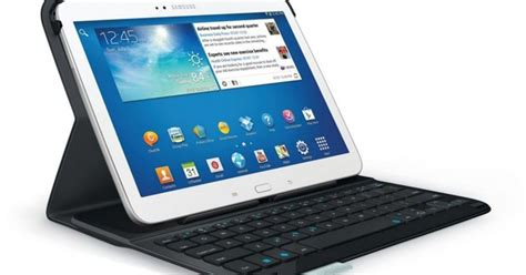 Samsung Tab F2 Logitech Unveils Two Folio Cases For Galaxy Tab 3 Owners