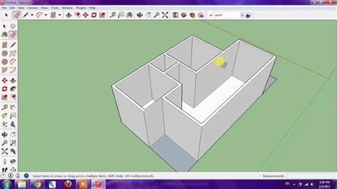 tutorial sketchup membuat rumah tutorial sketchup membuat rumah part 1 youtube