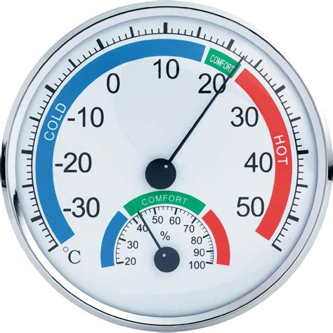 Thermometer Hygrometer th101e analogue thermometer hygrometer comfortmeter from