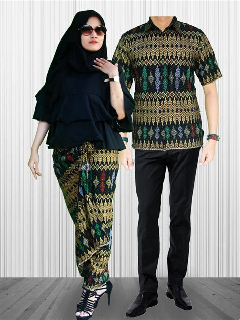 Eliana Set Atasan Pepplum Dan Rok Lilit Batik Set Ori By Khanza sarimbit rok lilit terompet grimis sgb 7 batik prasetyo