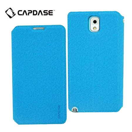Capdase For Samsung Galaxy Note 3 capdase sider baco folder for galaxy note 3 blue