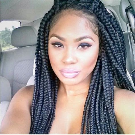 how many packs of hair for individuals jumbo box braids with color