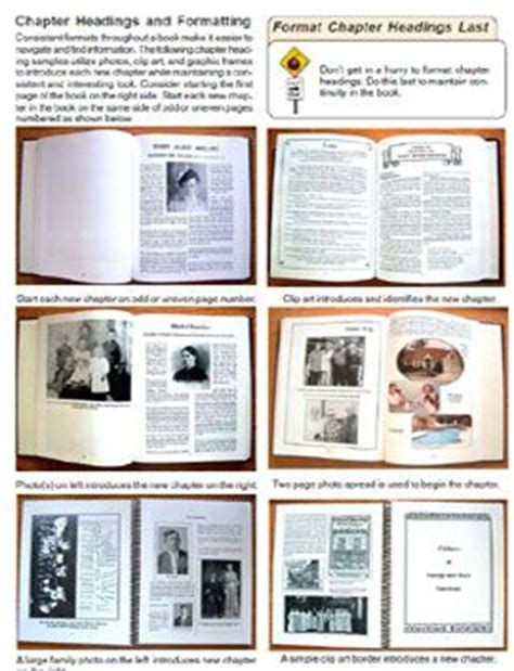 Suggestions For Formatting Your Family History Book Sharing Family History Pinterest Shutterfly Family Tree Template