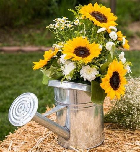 sunflower arrangements ideas 25 best ideas about summer flower arrangements on