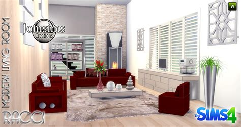 sims 3 living room sets my sims 4 racci living room set by jomsims