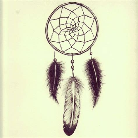 simple dreamcatcher tattoos catcher i drew for a friends dreamcatcher