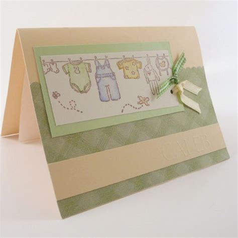 Handmade Birth Announcements - handmade baby birth announcements baby s