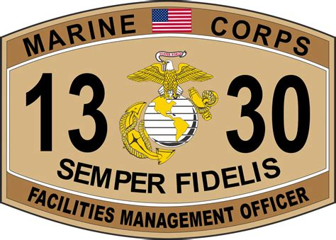 Marine Corps Officer Mos by Facilities Management Officer Marine Corps Mos 1330 Usmc