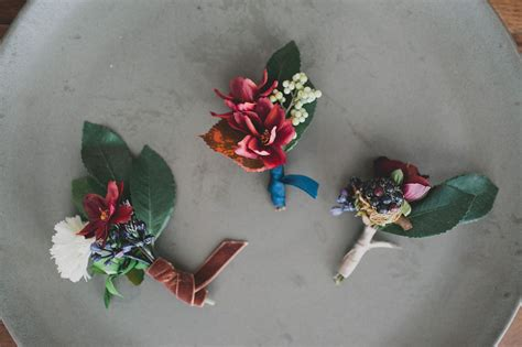 Handmade Corsage And Boutonniere - diy silk flower boutonnieres green wedding shoes