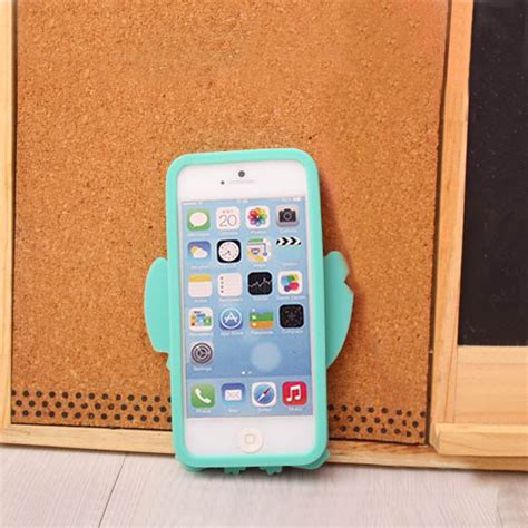 20 3d stitch silicone for iphone 5 5s hokkoh