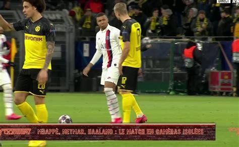 dortmund psg le match de neymar  mbappe  haaland en