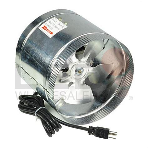 inline duct booster fan reviews 8 all metal 400 cfm high flow inline duct air booster fan