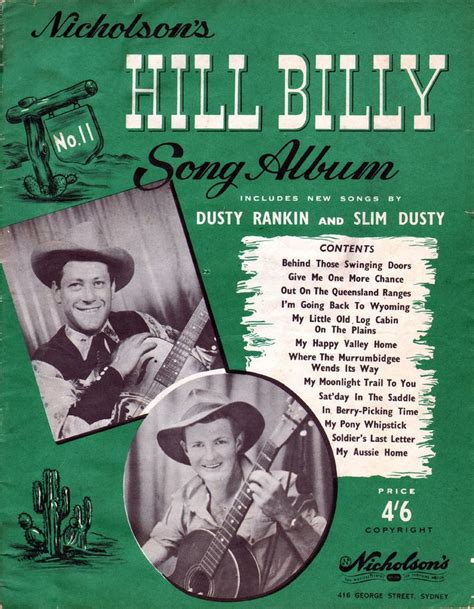 swing doors song hill billy song album 1949 a collection of 13 songs