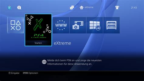 ps4 themes extreme article proof of concept ps4 menu mod by senaxx via