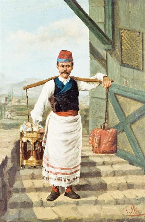 Ottoman Coffee Seller 19th Century Osmanlı Seyyar Ottoman Empire Coffee