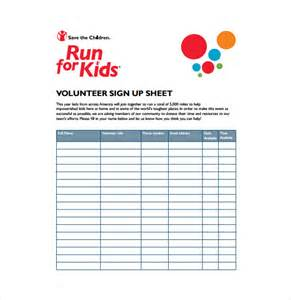 petition sign up sheet template sign up for volunteer sheet template for your event or