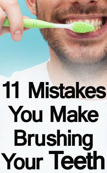 New Year New You Worst Fashion Mistakes by 11 Mistakes To Avoid While Brushing Teeth Toothbrush