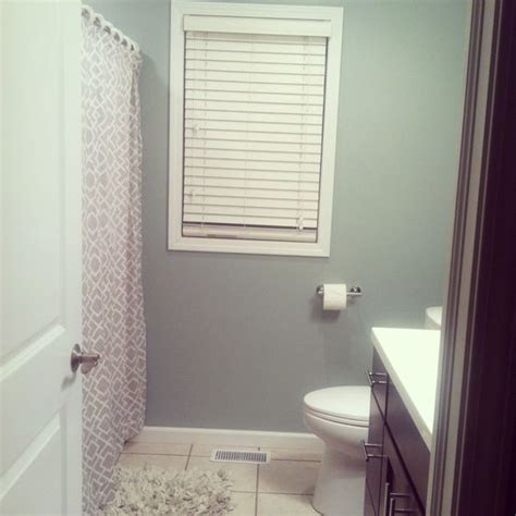 our new bathroom color sherwin williams silvermist paint for the home