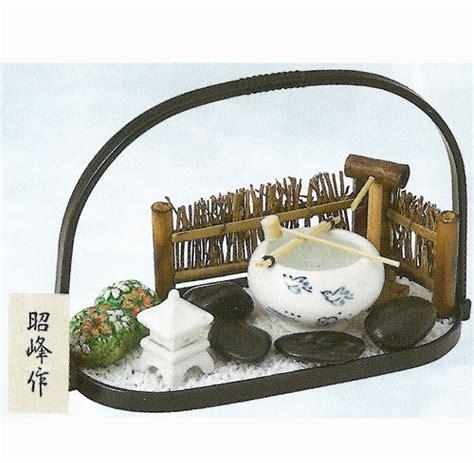 S486 B by 楽天市場 生産終了品 陶器製 夏ものがたり 涼風のおくりもの 小判型手提げ盆のり つくばい日本の庭園セット