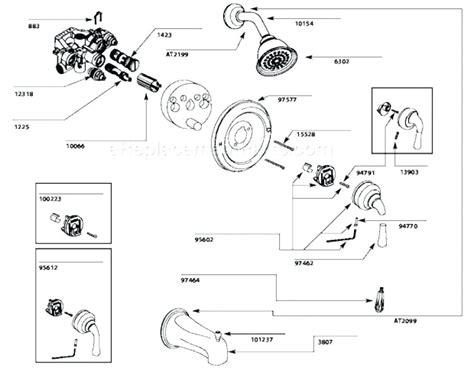 Moen Kitchen Faucet Schematic by Moen Kitchen Faucet Parts Lowes Wow