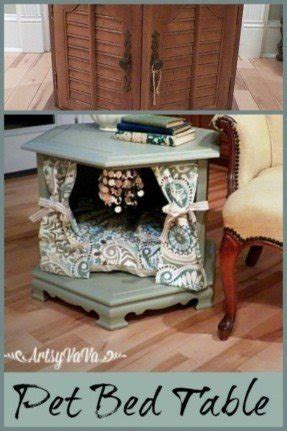 pet bed end table end table bed foter