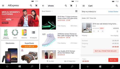 aliexpress mobile app alibaba aliexpress shopping app als universal app f 252 r