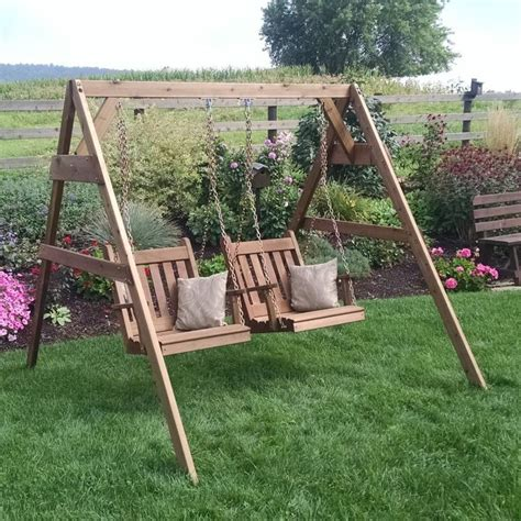 A L Furniture A Frame Swing Stand For Swing Or Swing Bed Swinging Bed Frame