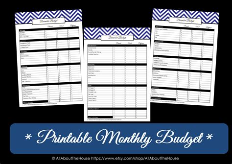 printable monthly budget calendar 2016 8 best images of printable budget calendar free