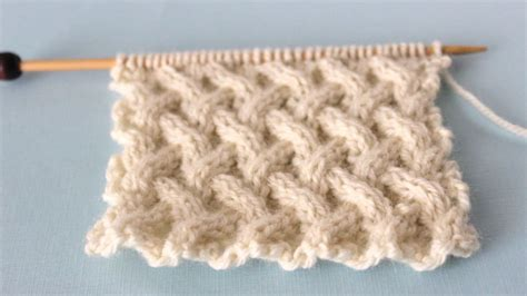 how to knit a cable stitch how to knit the lattice cable stitch pattern us227