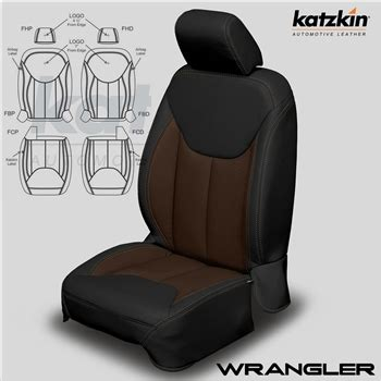 jeep upholstery kit jeep wrangler katzkin leather seat upholstery kit