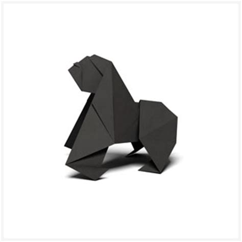 How To Make Origami Gorilla - origami patterns pages wwf