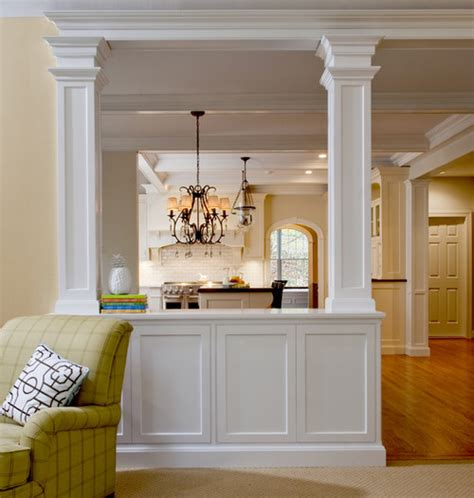 home designer half wall who was ther designer of the half wall with columns i like it