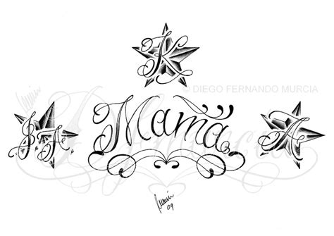 mama lettering by dfmurcia on deviantart