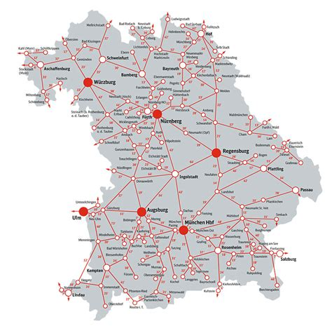 bahn map germany bayern ticket bavaria southern germany