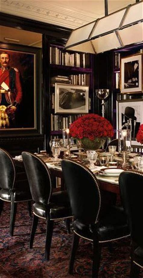 ralph lauren dining room ralph lauren black red and white dining room decor