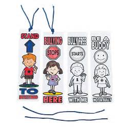 anti bullying color color your own anti bullying bookmarks trading