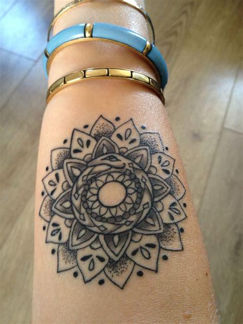 ouroboros tattoo wrist finally settled on a snake ouroboros mandala i wanted the
